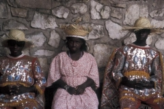 Young Rara kings and queen rest after dancing