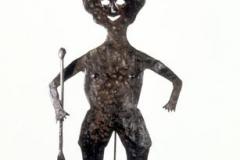 Rara Majo Jon metalwork sculpture